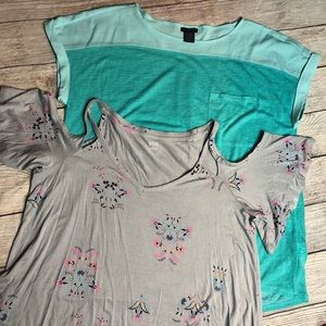 Calvin Klein and Ana Women's Plus Size Shirt Lot